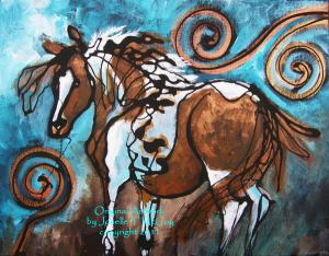 McCoys Gaited Horse Artworks